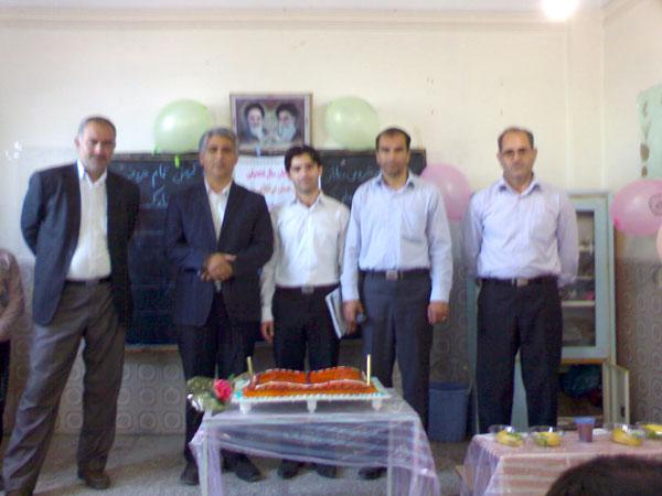 از سمت راست آقای احمدی   مرتضایی   عبدالله زاده دادگر و اصلانی